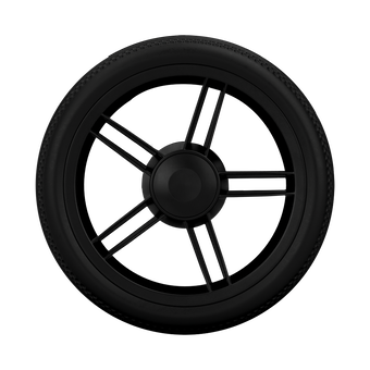 Joolz Geo rear wheel set black for Joolz Geo pushchair