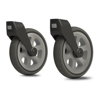 Joolz Day²/³ all-terrain swivel wheels,