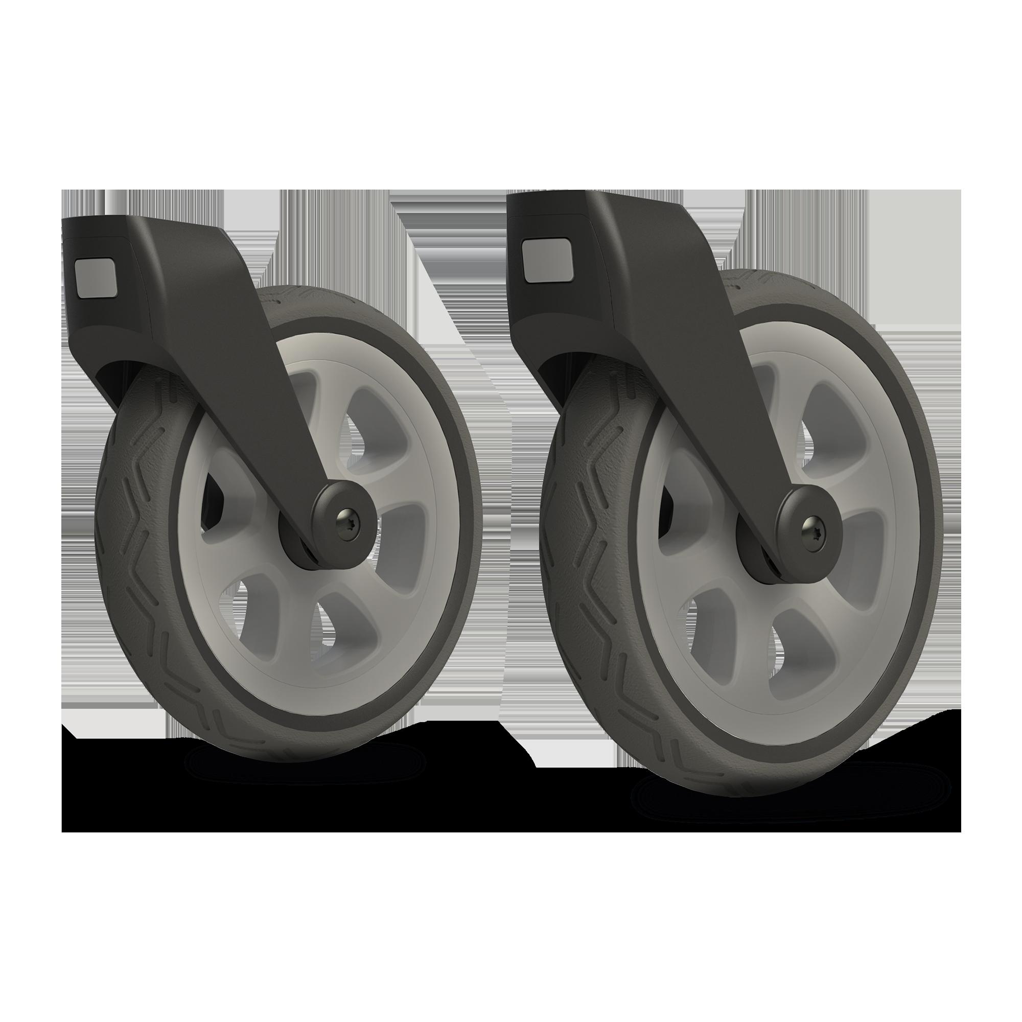 Joolz Day²+³ all-terrain swivel wheels,